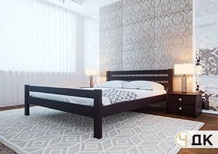 product Елегант узніжжя ліжко дерев'яне купити під замовлення Червоноград Острів