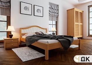 product Італія м'яке узголів'я ліжко дерев'яне купити під замовлення Червоноград Острів