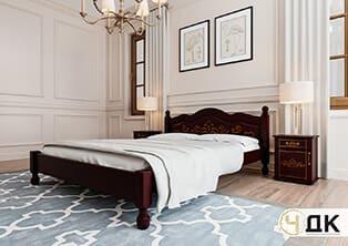 product Магнолія ліжко дерев'яне шпоноване купити під замовлення Червоноград Острів