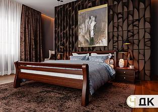 product Ретро ліжко дерев'яне купити під замовлення Червоноград Острів