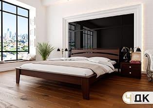 product Венеція ліжко дерев'яне купити під замовлення Червоноград Острів