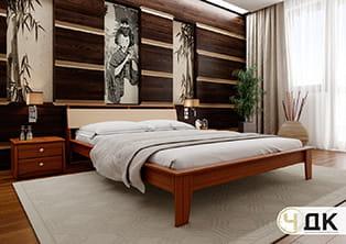 product Венеція м'яке узголві'я ліжко дерев'яне купити під замовлення Червоноград Острів