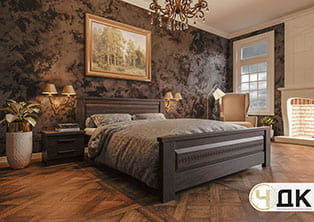 Еліт-New ліжко дерев'яне шпоноване купити під замовлення Червоноград Острів