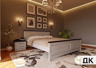 product Майя-New ліжко дерев'яне шпоноване купити під замовлення Червоноград Острів